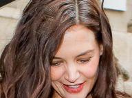 Katie Holmes : Naturelle à la Fashion Week et fière de ses cheveux blancs