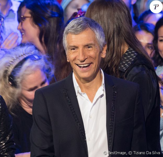 Nagui lors du deuxième jour de la 33ème édition du Téléthon au Parc de la Villette à Paris le 7 décembre 2019. © Tiziano Da Silva/Bestimage