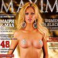 Natali Thanou en couverture de Maxim !