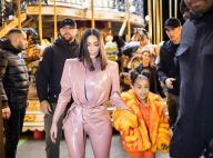 Kim Kardashian à Paris : Deux nouvelles tenues en latex, sortie avec North
