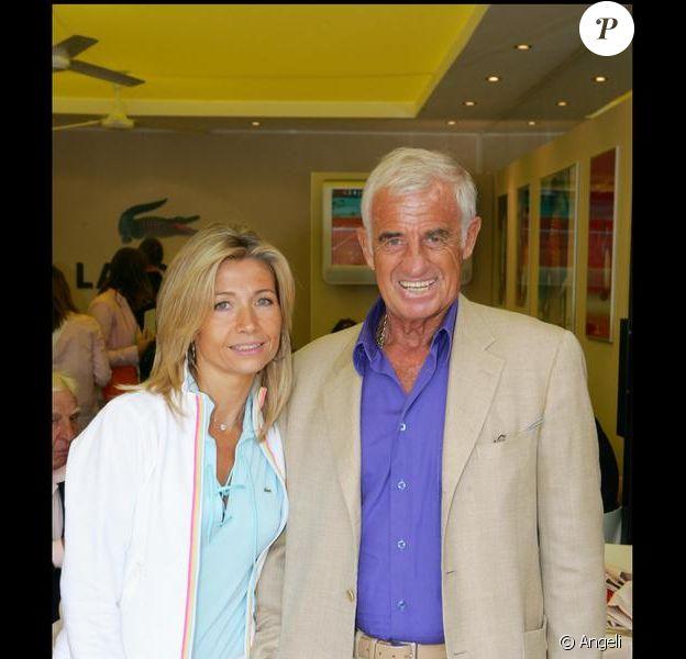 Natty et Jean-Paul Belmondo