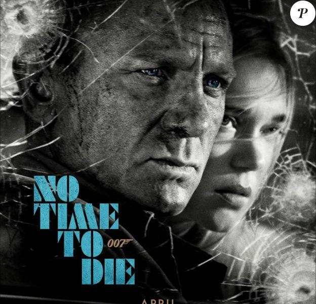 James Bond Mourir peut attendre (No Time To Die) avec Daniel Craig et Léa Seydoux.