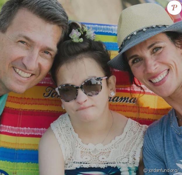 John Olerud avec sa femme Kelly et leur fille Jordan morte à 19 ans d'une maladie rare.