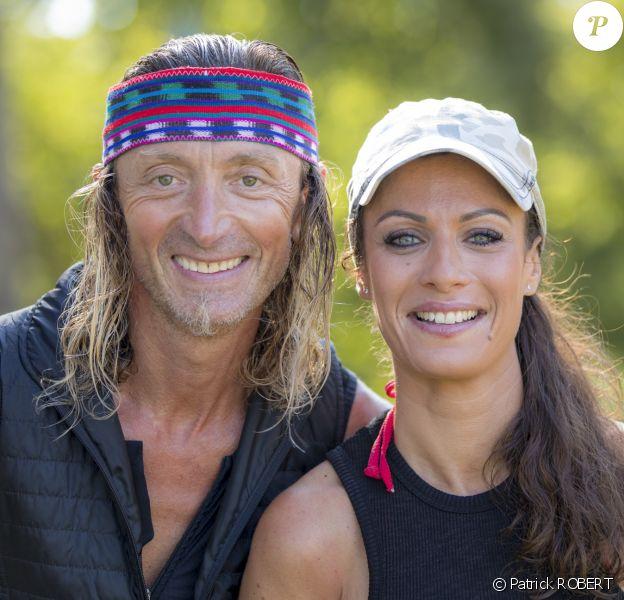 """Ingrid et Fabrice, candidats de """"Pékin Express 2020"""", photo officielle de M6."""