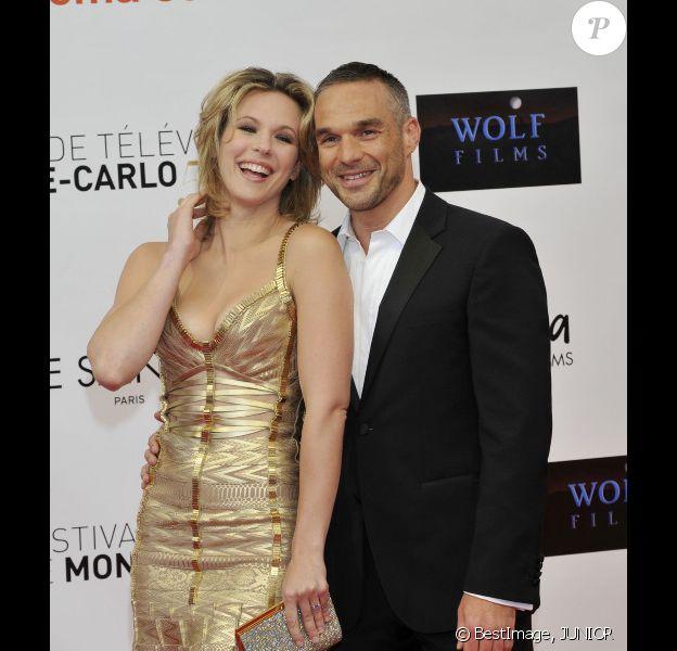 Lorie et Philippe Bas en juin 2012 à Monte-Carlo