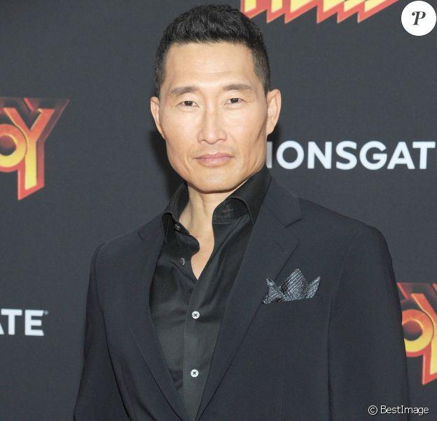 Info - Daniel Dae Kim testé positif au coronavirus (COVID-19) - Daniel Dae Kim à la première de Hellboy au théâtre AMC Lincoln Square à New York, le 9 avril 2019