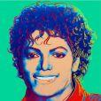 Le portrait de Michael Jackson réalisé en 1984 par Andy Warhol. Il a été acheté aux enchères pour plusieurs millions de dollars
