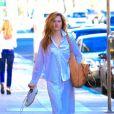 Exclusif - Grace Gummer à la sortie d'un centre m médical à Beverly Hills, le 8 novembre 2016