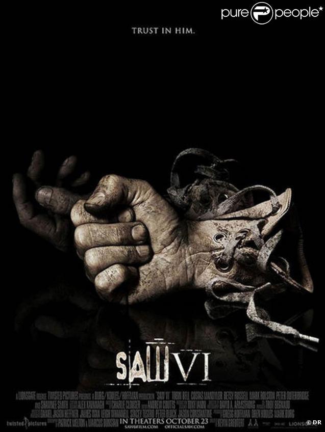 L'affiche de  Saw 6 ... terrifiante !
