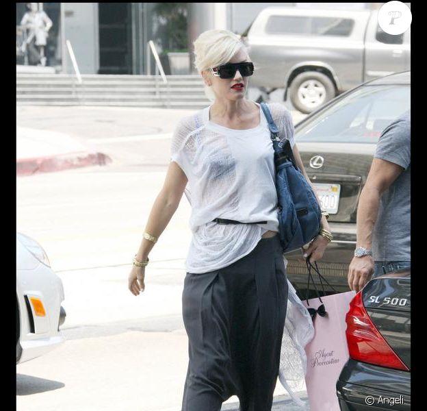 Gwen Stefani en mode shopping coquin à Hollywood