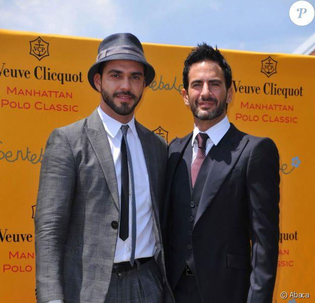 Marc Jacobs et son futur mari Lorenzo Martone
