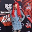 Jeffree Star à la soirée iHeartRadio Music awards à Inglewood, le 5 mars 2017