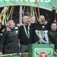 Pep Guardiola lors du match de la Coupe de la Ligue opposant Aston Villa à Manchester City au stade Wembley à Londres, Royaume Uni, le 1er mars 2020. Manchester City a gagné 2-1 et remporte sa troisième Coupe de la Ligue d'affilée. © Cover Images/Zuma Press/Bestimage