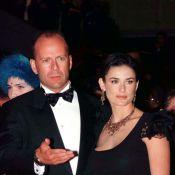 Demi Moore et son ex Bruce Willis : Confinés ensemble en pyjamas assortis