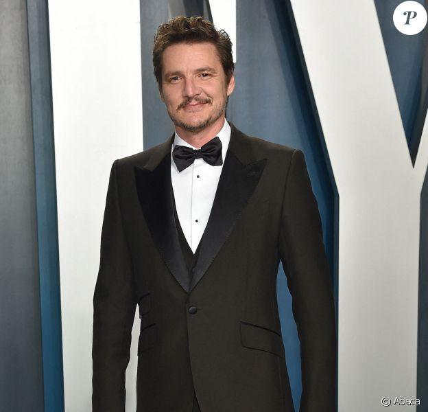 Pedro Pascal à la soirée Vanity Fair Oscar Party le 9 février 2020.