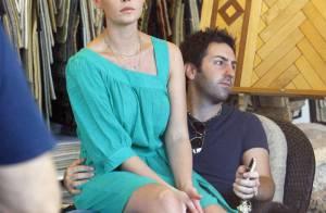 Katherine Heigl, avec un look réussi et des cheveux éclaircis, fait du shopping déco amoureux... avec son mari !
