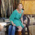 Katherine Heigl et son époux Josh Kelley font des emplettes dans un magasin de décoration. 22/08/09