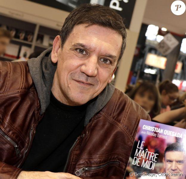 Christian Quesada au salon du livre de Paris 16 mars 2019. © Cédric Perrin/Bestimage