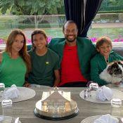 Tiger Woods : Confiné avec ses enfants et sa chérie Erica, une photo rare
