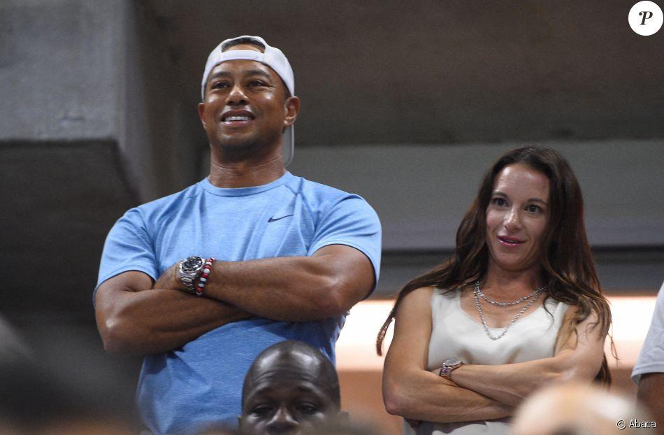 Tiger Woods et sa compagne Erica Herman en septembre 2019 ...