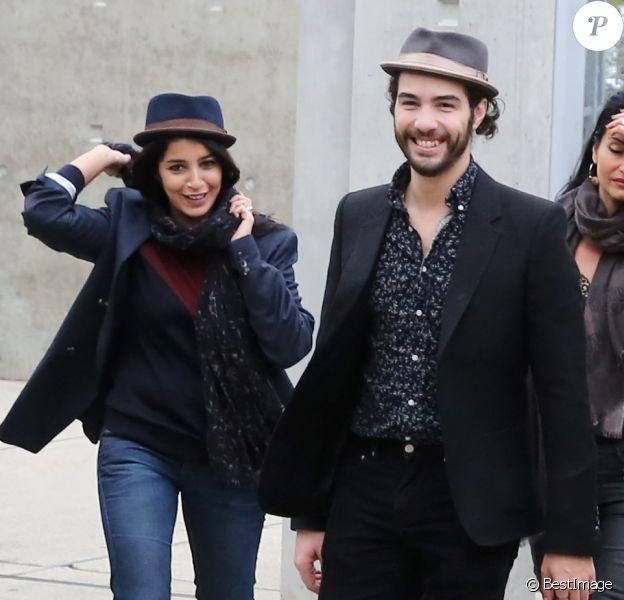 Leila Bekhti et Tahar Rahim à Lyon le 19 Octobre 2013 dans le cadre du Festival Lumiere.