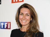 """Anne-Claire Coudray : Émue par """"l'énorme"""" surprise de sa mamie en plein JT"""