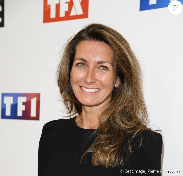 Anne-Claire Coudray - Soirée de rentrée 2019 de TF1 au Palais de Tokyo à Paris, le 9 septembre 2019. © Pierre Perusseau/Bestimage