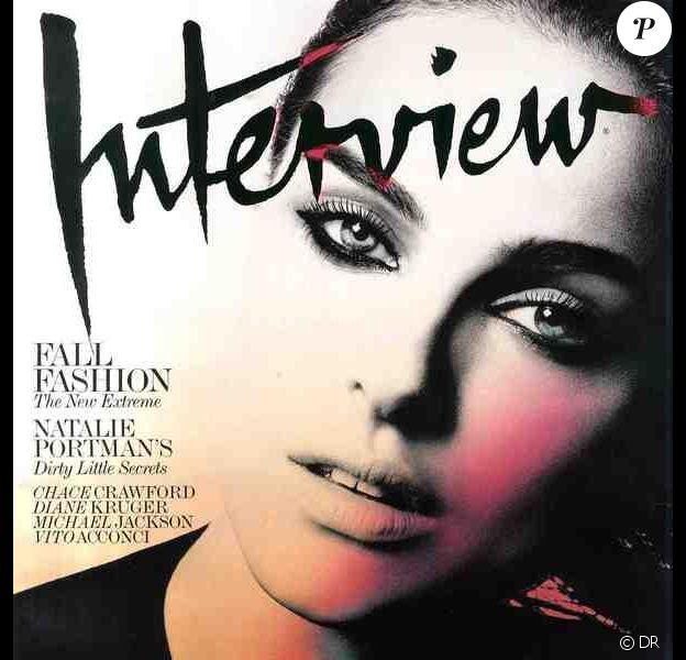 Natalie Portman pour Interview