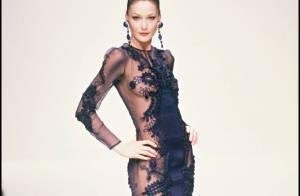 A l'époque où Carla Bruni était mannequin... elle n'avait vraiment pas froid aux yeux !