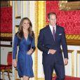 Fiançailles du prince William et Kate Middleton à Clarence House le 16 novembre 2010.