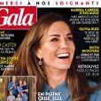 """Couverture du nouveau magazine """"Gala"""" paru le 30 avril 2020"""