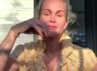 """Laeticia Hallyday sans maquillage: """"beauté naturelle"""" en chemisier haut de gamme"""