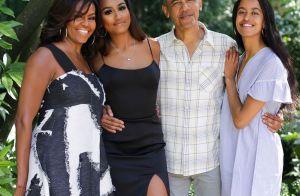 Michelle Obama, ses filles fières d'elle : rares confidences de Malia et Sasha