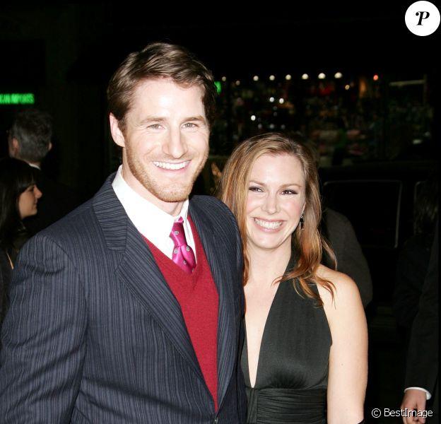 Sam Jaeger et sa femme à Los Angeles en 2007.