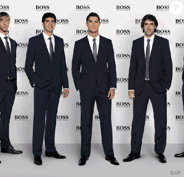 Les joueurs du Real Madrid so chic en Hugo Boss