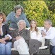 Clémentine Célarié et l'équipe du film de Thomas Gilou, Victor, au Festival d'Angoulême, le 28/08/09