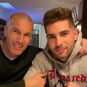 Zinédine Zidane célèbre son fils Luca pour ses 22 ans, la famille unie