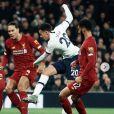Dele Alli lors du match Tottenham - Liverpool. Janvier 2020.
