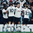Dele Alli et ses partenaires de l'équipe de Tottenham Hotspur. Décembre 2019.