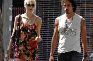 Carlos Leon, l'ex de Madonna, avec le sosie d'Agyness Deyn... c'est toujours la passion !