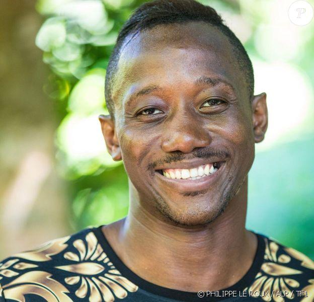 """Moussa, candidat de """"Koh-Lanta 2020"""", saison intitulée """"L'île des héros"""", diffusée à partir du 21 février 2020."""