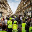 Acte 38 des Gilets Jaunes à Paris sous le signe d'un hommage à Steve Maia Canico. Le 3 août 2019. @Florent Julliard / Panoramic / Bestimage
