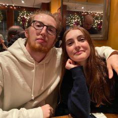 Caleb et Liv, les enfants de Julianne Moore, sur Instagram en janvier 2020.