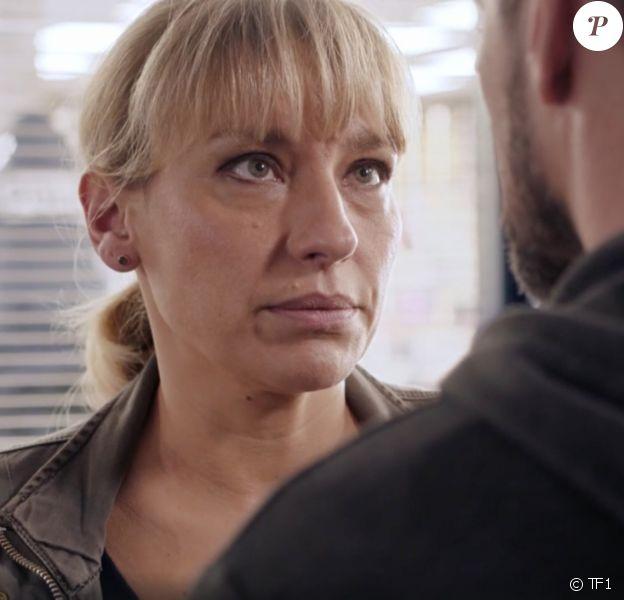 """Julie Debazac dans la série """"Demain nous appartient"""", diffusée sur TF1."""