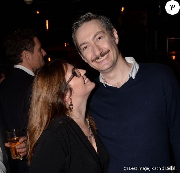 Exclusif - Vincent Desagnat et sa compagne Mathilde - 40ème anniversaire de Arnaud Ducret à la Gioia à Paris le 9 décembre 2018 © Rachid Bellak/Bestimage