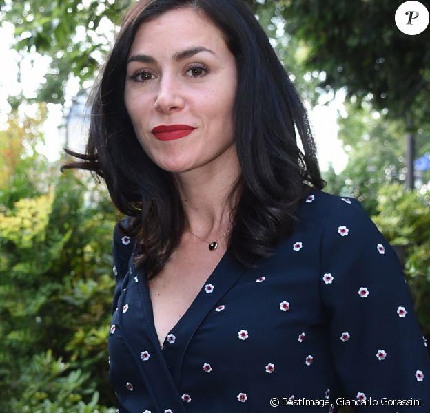 Olivia Ruiz - La maire de Paris A. Hidalgo reçoit le président du gouvernement espagnol P. Sanchez dans les jardins de l'Hôtel de Ville à Paris le 29 juin 2018. © Giancarlo Gorassini/Bestimage