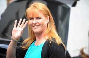 Sarah Ferguson, 49 ans et lumineuse... oh la belle verte !