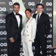 "David Beckham, Victoria Beckham, Brooklyn Beckham - Photocall de la soirée ""GQ Men of the Year"" Awards à Londres le 3 septembre 2019."