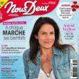 """Astrid Veillon en couverture du nouveau numéro de """"Nous Deux"""", paru le 25 mai 2020."""