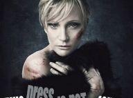 Patricia Kaas... rouée de coups élève la voix contre la violence faite aux femmes !